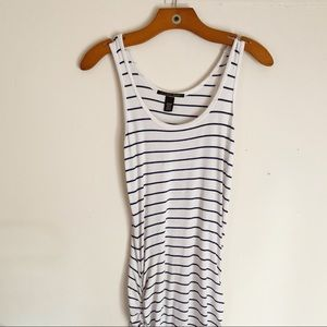 VICTORIAS SECRET Striped Sleeveless Maxi Dress